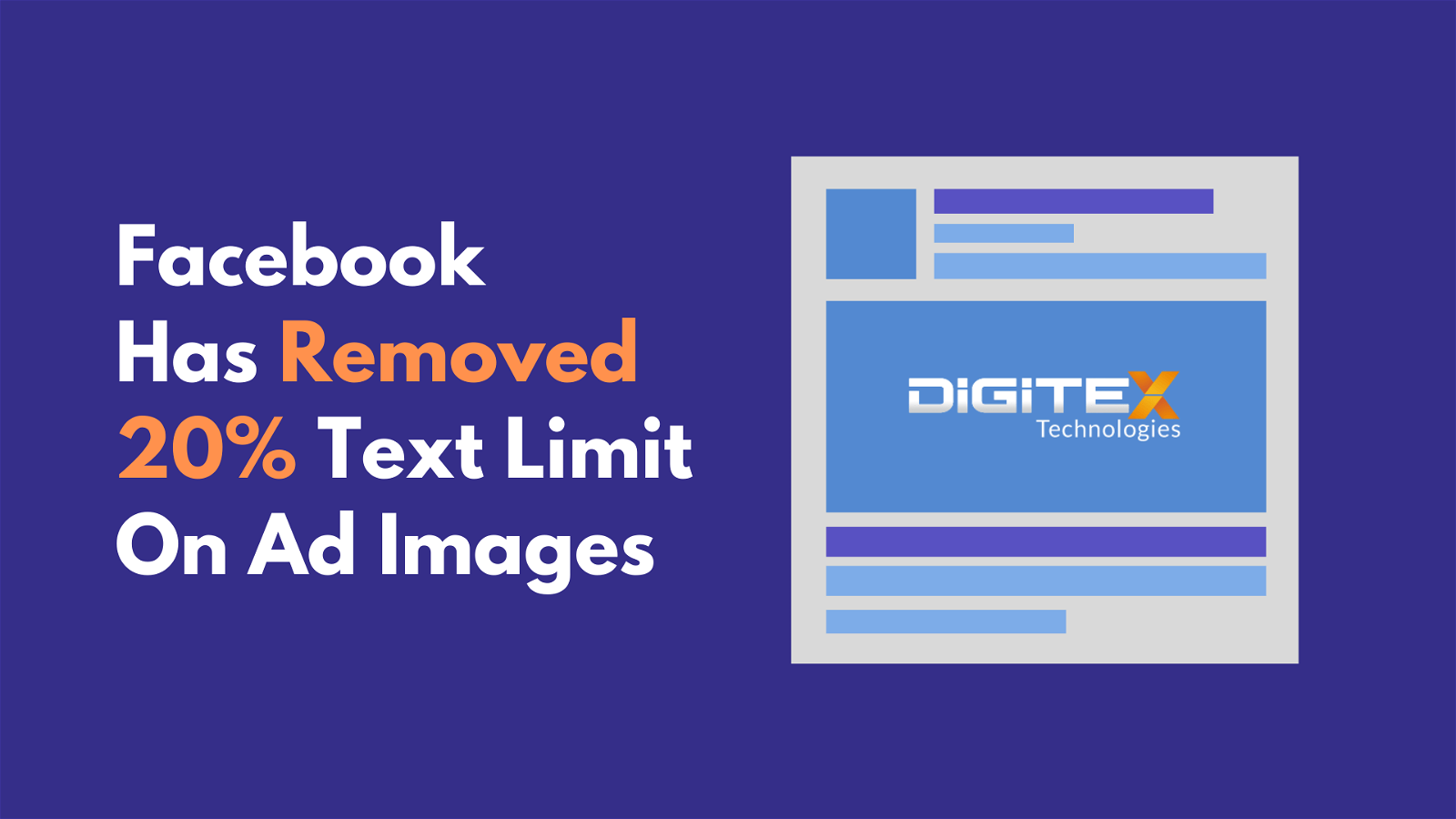 Big Update: Facebook Has Removed 20% Text Limit On Ad Images